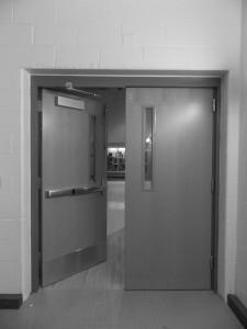 Portage Northern's Left Door
