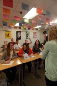 Talking with teachers