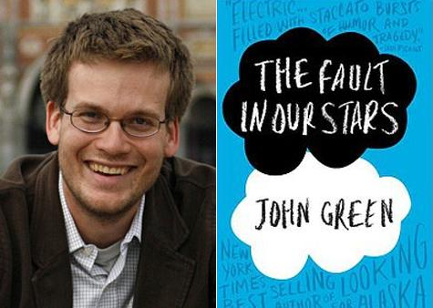John Green and his best selling novel, which you better read.