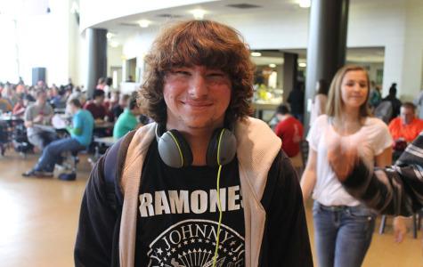 Jacob Rollins (10) is a huge rock music fan.