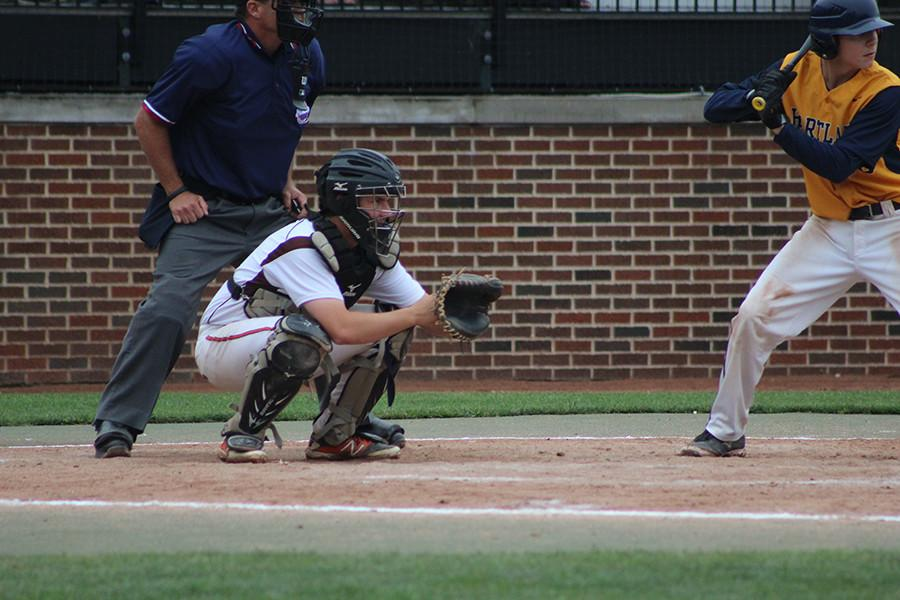 Beadle catching in finals