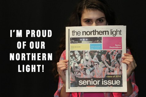 Abigail Seeber (11) is proud of the NL