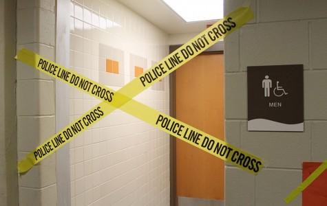 Bad boys' bathroom