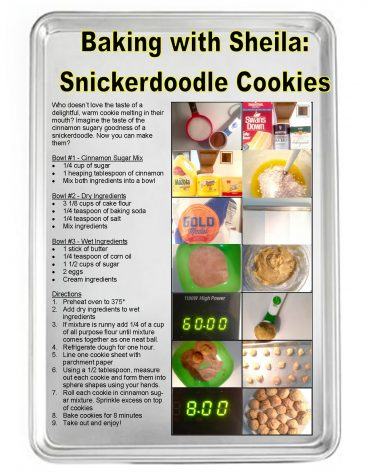 Baking with Sheila: Snickerdoodle Cookies