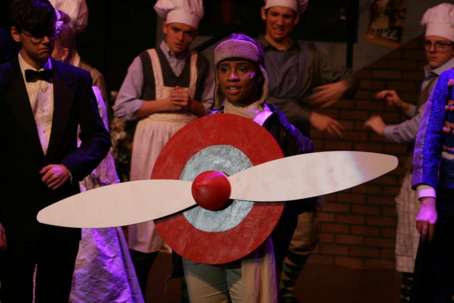Trinity Posey is in her third year at PN, and is proving more talented as she ages. As a freshman she got a lead in the musical All Shook Up, and this year she returns as Trix the Aviatrix in The Drowsy Chaperone.