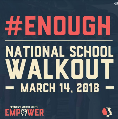 Discussions of nationwide school walkouts fill social media