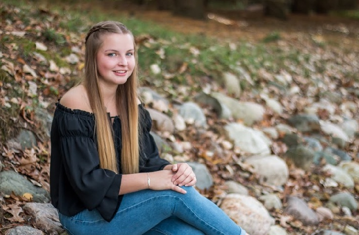Foreign exchange student Esther Schubert makes the most of her time at PNHS