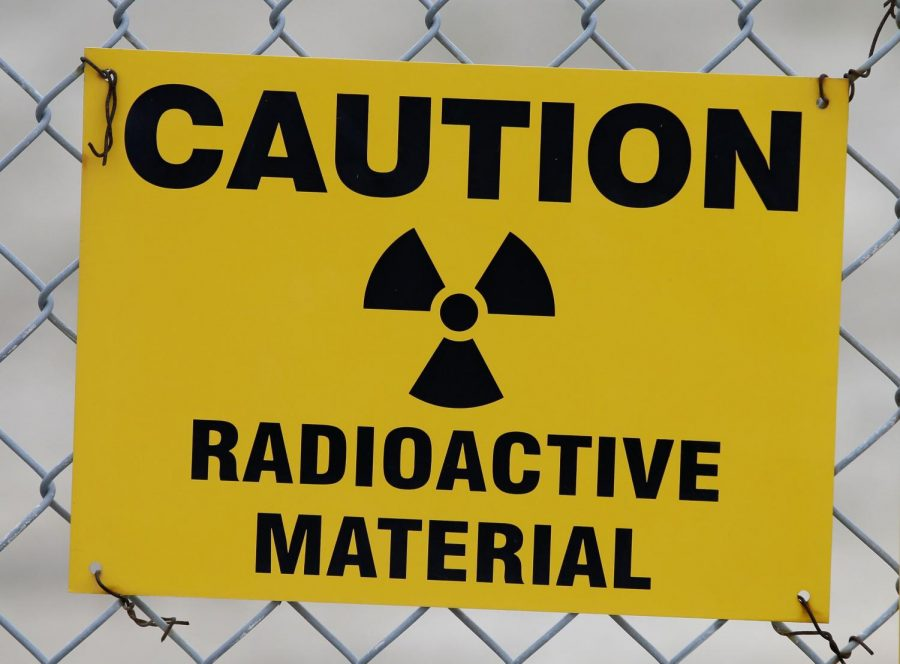 Radioactive waste posts real dangers