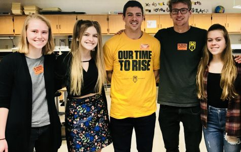Students Combatting Climate Change host visitors from the Sunrise Movement