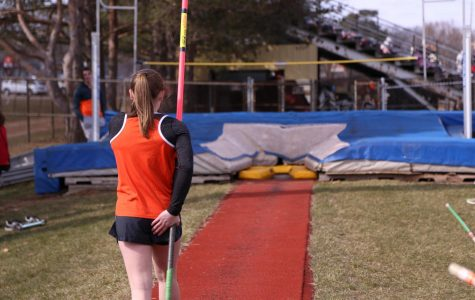 The track team runs…without a track