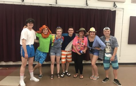 Improv team seniors take their final bow