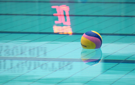 Water polo team plays in district tournament