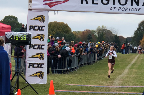 XC mens team competes at state; Peyton Witt competes solo on the women's side