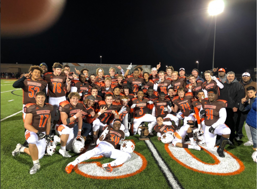 Varsity football wins district championship for the first time in school history