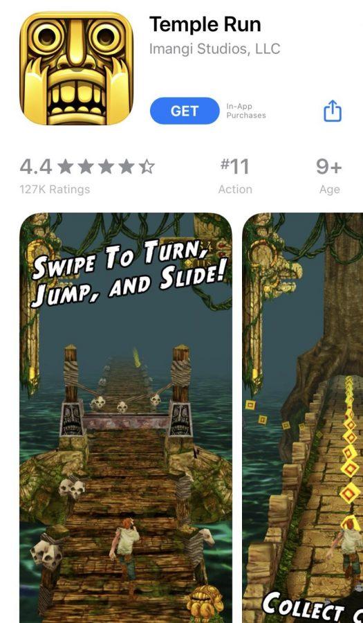 TempleRushGo: three similar games