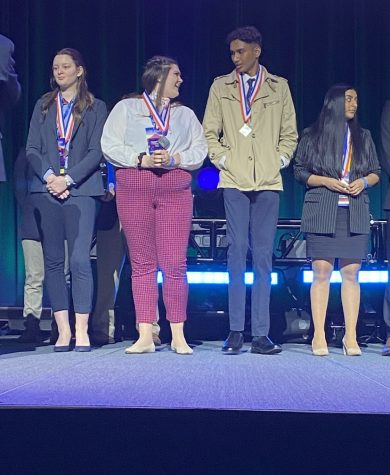 DECA state competition takes place in Detroit