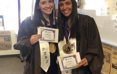 """""""Yeah, I'm graduating today"""": seniors stand in solidarity during threat of COVID-19"""