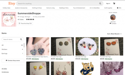 Junior Jasmine Crump opens Etsy shop while coping with quarantine