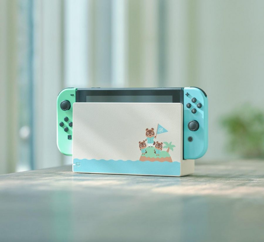 The Nintendo Switch Animal Crossing New Horizons edition was on many Christmas lists.