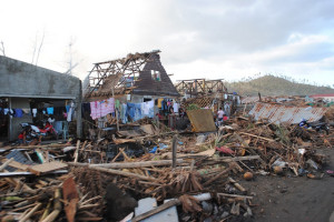 Super Typhoon Haiyan devastates the Phillipines