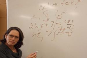 Nott your average teacher: A closer look at the Language Arts teacher Ms. Nott