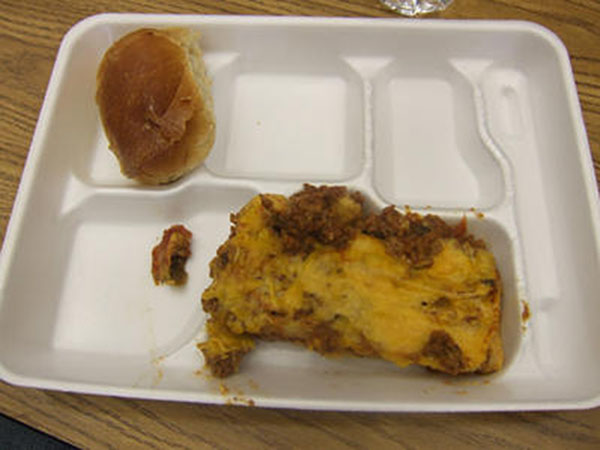 Cringe worthy creations specially made from school cafeterias: 5 grossest school lunches