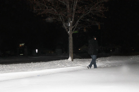 Snow Struggles: A school day can be a snow day for student walkers and drivers