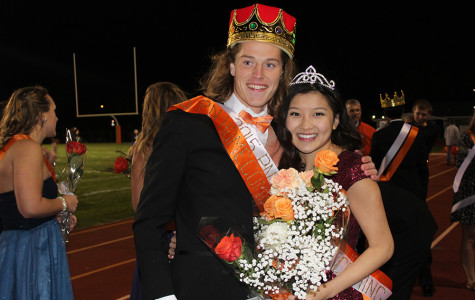 King Wayne Matunas and Queen Ni Pham bring home the crowns.