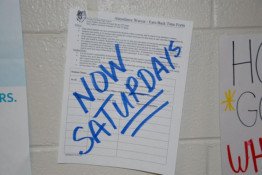 Saturday school?