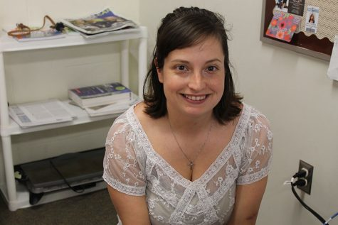 Mrs. Thorpe takes over as new adviser of The Northern Light