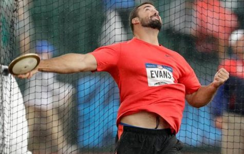 Brown and orange to red, white, and blue: Portage Northern's own Andrew Evans qualifies for the Olympics