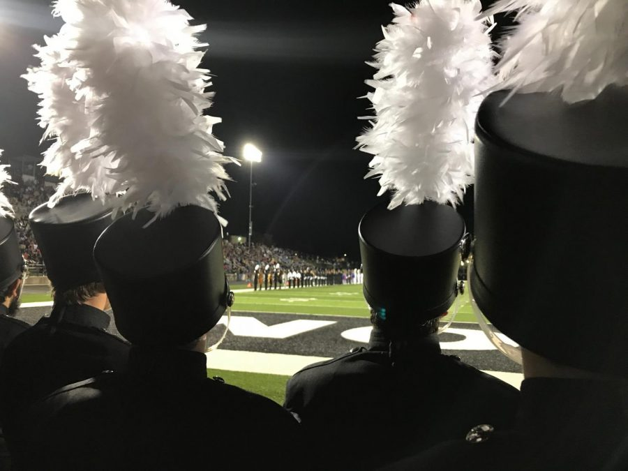 Right after performance, the band walked off to the end zone and watched Jenison perform their show and stayed for awards shortly after. Since Jenison was hosting the show, they didn't get placed at that particular event, but performed in exhibition.