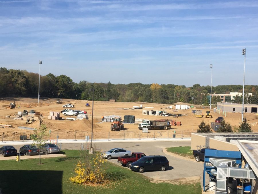 New construction proceeding according to plan