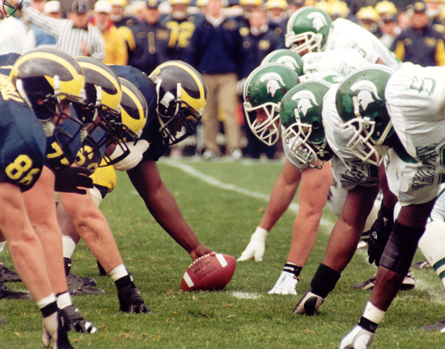 The MSU-U of M rivalry is as strong as ever