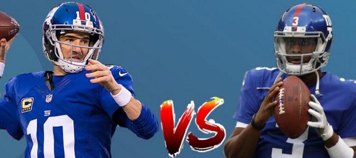 Eli vs Geno: a look at the Giants' quarterback controversy