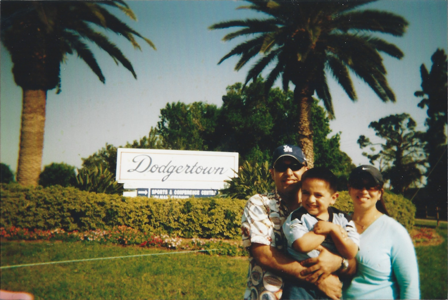 My family and I during my early childhood years in sunny Las Angeles, CA.