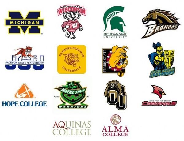 Top 5 Michigan colleges