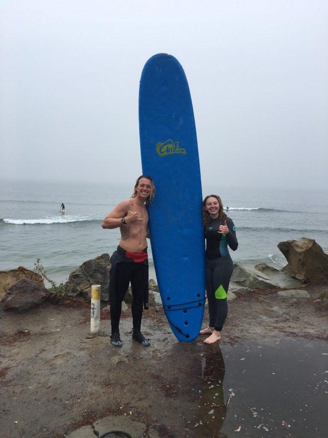 Junior Marisa Toomsen surfs her way through life