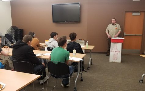 Students learn about high-demand career paths through Lunch and Learn event