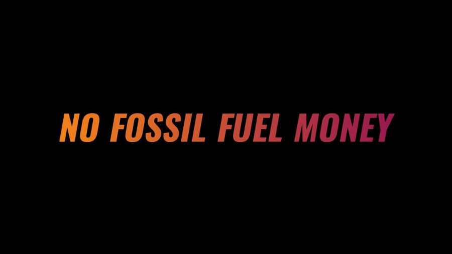 Sunrise against politicians receiving money from fossil fuel companies