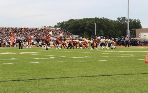 The first home football game brought out the best of Huskie Nation