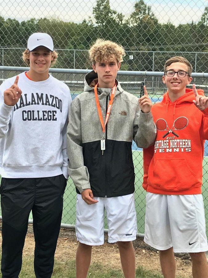 Men's tennis gets ready for regionals