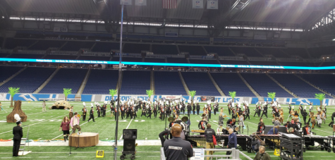 Marching band finishes fourth at state
