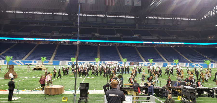 Marching+band+finishes+fourth+at+state