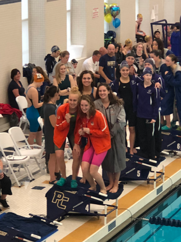 Huskie swimmers advance to the state meet