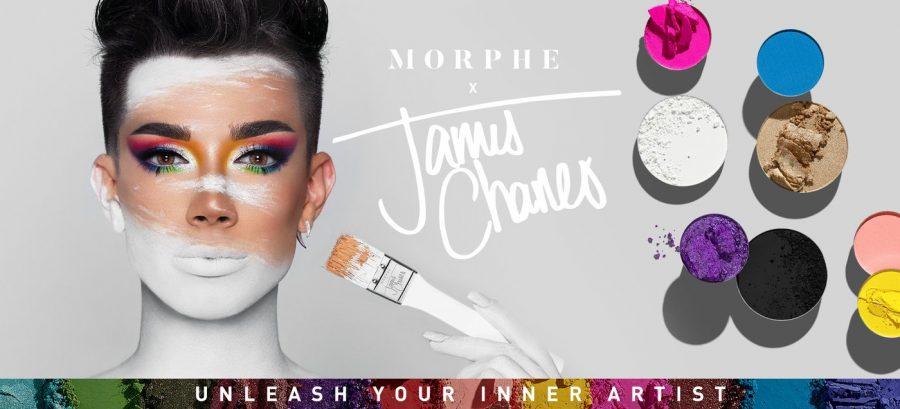 James Charles X Morphe eyeshadow review