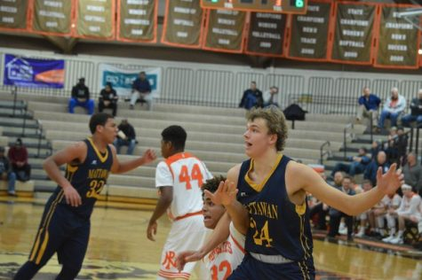 Boy's basketball season ends with loss to Mattawan