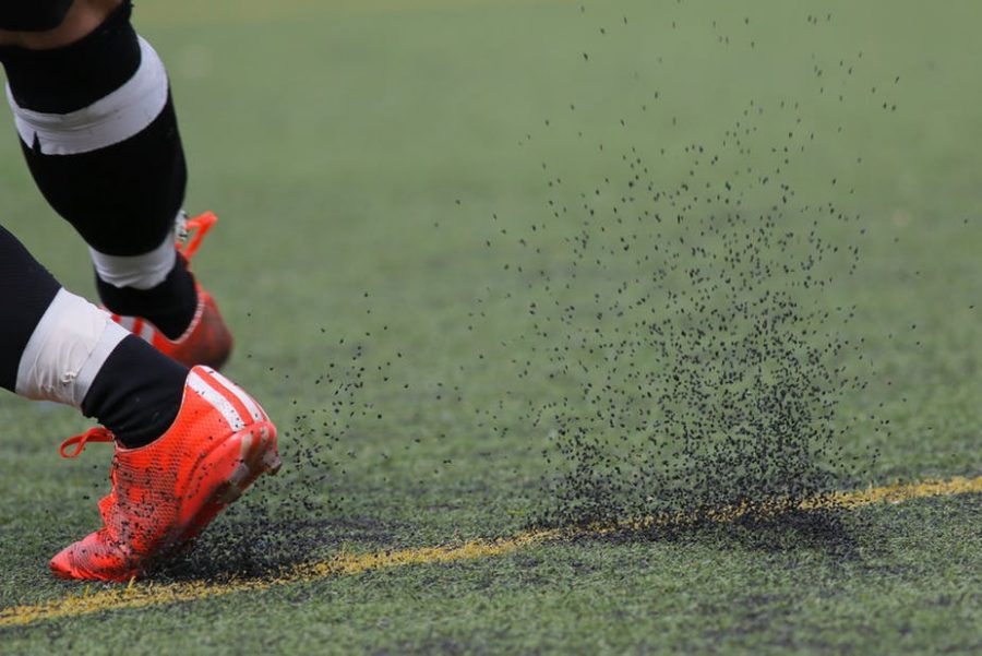 Turf lives and dies as real grass does, but with much harsher side effects