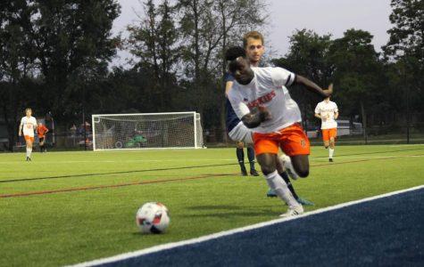 PN varsity soccer narrowly loses to PC