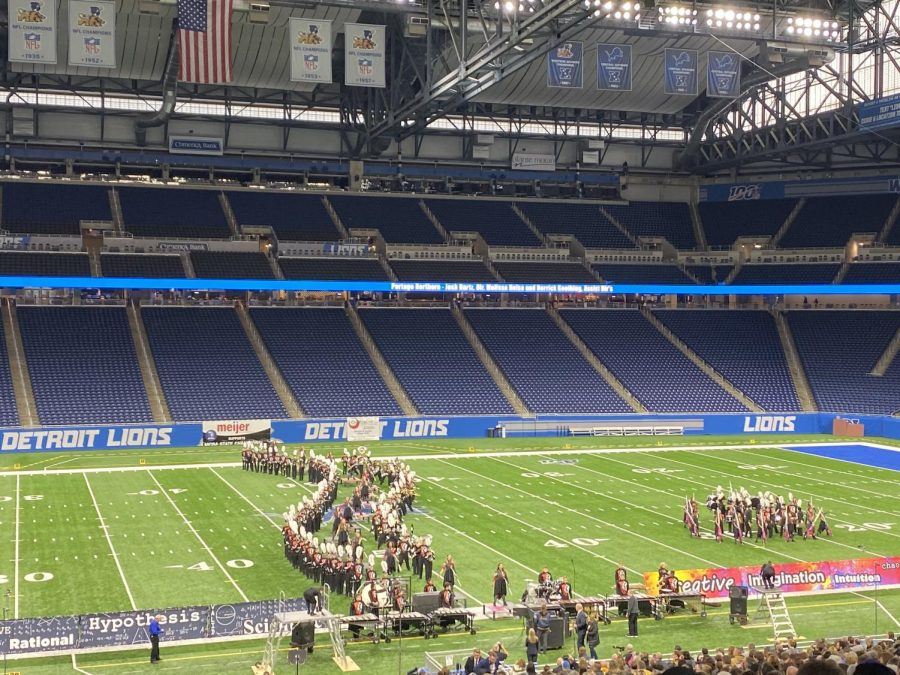 Band competes in state finals